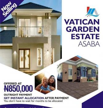 Estate Land, Ibusa Behind Airport Road, Asaba, Delta, Residential Land for Sale