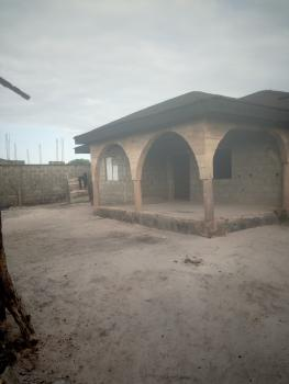 4 Bedroom Bungalow on 650sqm, Okun Ajah Behind Cooplag Estate, Lafiaji, Lekki, Lagos, Detached Bungalow for Sale