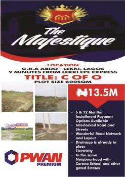 The Majestique, Abijo Gra, 2 Mins From Lekki Epe Expressway., Agungi, Lekki, Lagos, Mixed-use Land for Sale