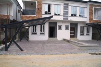 Fully Serviced 4 Bedroom Semi- Detached House, Off Chevron Drive, Lekki Expressway, Lekki, Lagos, Semi-detached Duplex for Sale
