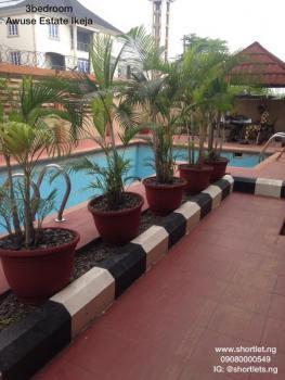 Shortlet- 3 Bedroom Flat, Opebi, Ikeja, Lagos, Mini Flat Short Let