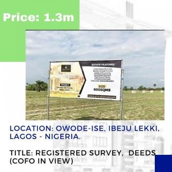 Land at a Prime Location, Tivertion Phase 2 at Igbogun Rd, Just Few Minutes After The Sea Port, Folu Ise, Ibeju Lekki, Lagos, Mixed-use Land for Sale