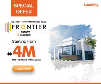 August Offer Frontier Estate, Bogije Ajah, Abijo, Lekki, Lagos, Land for Sale