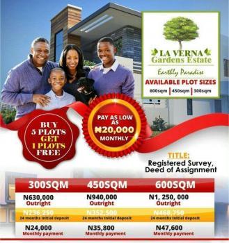 Affordable Estate Land, Behind Hfp Paving Stones Near Pan Atlantic University, Ibeju Lekki, Lagos, Residential Land for Sale