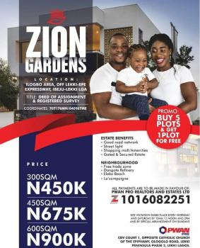 Affordable Estate Land, in The Neighborhood of New Sea Port and La Campaigne Tropicana, Ibeju Lekki, Lagos, Residential Land for Sale
