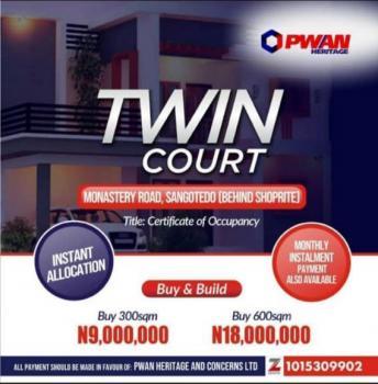 Twin Courts Estate Land, Behind Shoprite, Sangotedo, Ajah, Lagos, Residential Land for Sale