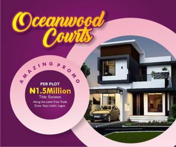 Affordable Estate Land, Along The Road, Lekki Free Trade Zone, Lekki, Lagos, Residential Land for Sale