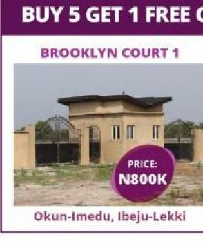 Affordable Estate Land, 20 Minutes From New Seaport in a Residential Area, Okun Imedu, Ibeju Lekki, Lagos, Residential Land for Sale