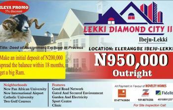 Esate Land, Close to Pan Atlantic University and 13 Minutes Away From Dangote Refinery, Eleranigbe, Ibeju Lekki, Lagos, Residential Land for Sale