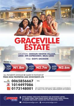 Esate Land Government Excisions, Close to Pan Atlantic University and Dangote Refinery, Ibeju Lekki, Lagos, Residential Land for Sale
