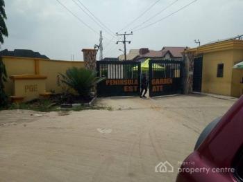 a Full Plot of Dry Land in an Estate, Peninsula Garden Estate, Ajah, Lagos, Residential Land for Sale