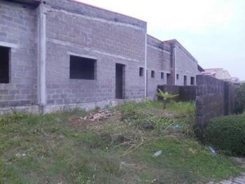 Carcass 3 Bedroom Bungalow, Mayfair Gardens Estate, Lekki, Lagos, Semi-detached Bungalow for Sale