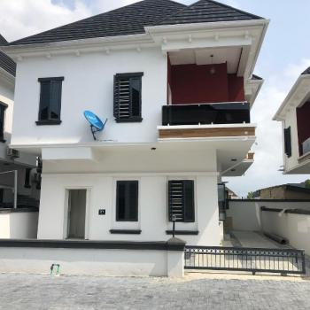 4 Bedroom Fully Detached Duplex with Bq in a Serviced Estate By Chevron Toll Gate Lekki Lagos, Lafiaji, Lekki, Lagos, Detached Duplex for Rent
