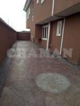 4 Bedroom Duplex with a Room Bq, Isecom Via Berger, Ojodu, Lagos, Semi-detached Duplex for Sale