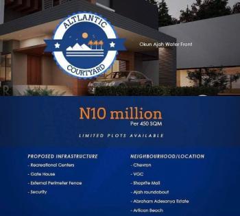 Estate Land, Okun- Ajah Water Front, Ajah, Lagos, Residential Land for Sale