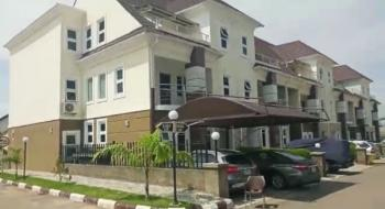 Luxury Finished 4 Bedroom Terrace Duplex with Bq, Airport Road, Close to Citec Estate, Jabi, Abuja, Terraced Duplex for Sale