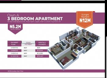 2bedroom Apartment for Sale with Just 5.2million, Abijo, Lekki, Lagos, Flat for Sale