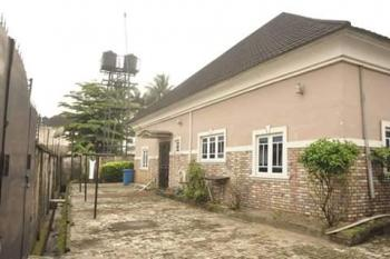 Equisite 4 Bedroom Bungalow  with 2 Rooms Bq on 873.691sqm Land, Oginigba New Layout, Port Harcourt, Rivers, Detached Bungalow for Sale