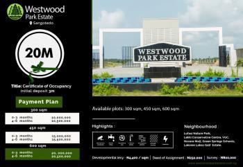 Westwood Estate Sangotedo, Sangotedo, Ajah, Lagos, Residential Land for Sale