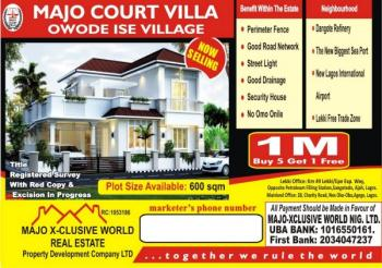 Land with Excision, Akodo Ise, Ibeju Lekki, Lagos, Residential Land for Sale