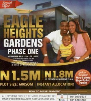 Affordable Land, 10 Minutes From Express Near Pan Atlantic University, Ibeju Lekki, Lagos, Residential Land for Sale