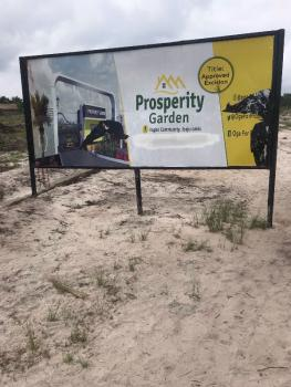 Dry Estate Lands for Sale( Excision Title), Ilagbo, Ibeju Lekki, Ibeju Lekki, Lagos, Residential Land for Sale
