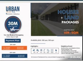 Urban Prime Land, Few Mins Drive From Vgc, Abraham Adesanya Estate, Ajah, Lagos, Mixed-use Land for Sale