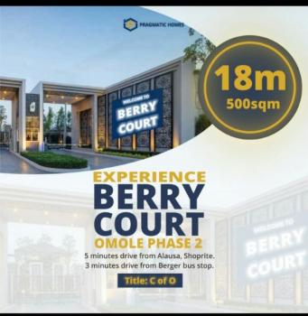Berry Court Estate Land, 5mins Drive From Ikeja City Mall, Ikeja, Lagos, Land for Sale