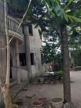 Extremely Spacious But Yet to Be Completed 4 Bedroom Bungalow with a Room Pent House Sitting on 951 Sqm Land ( One and Half Plot), Fidiso Estate, Sangotedo, Ajah, Lagos, Detached Duplex for Sale