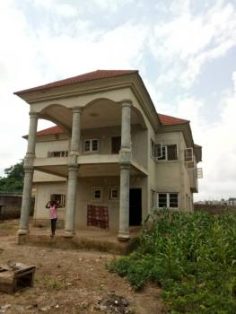 an 85% Completed 5 Bedroom Duplex All Ensuite in an Estate, Gwarinpa Estate, Gwarinpa, Abuja, Detached Duplex for Sale
