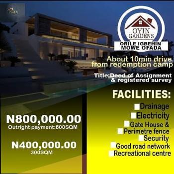 Oyin Gardens Land, Mowe Ofada, Ogun, Land for Sale