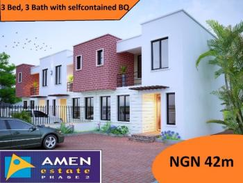 Amen Estate,ibeju Lekki, Eleko, Ibeju Lekki, Lagos, Terraced Duplex for Sale