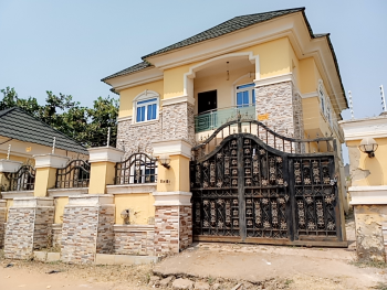 Luxury  4 Bedroom Duplex with Bq, Apo Resettlement, Apo, Abuja, Detached Duplex for Sale