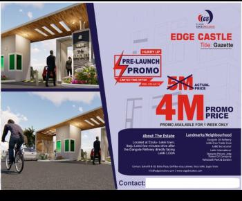 Edge Villa Castle Land Eleko, Eleko, Ibeju Lekki, Lagos, Land for Sale