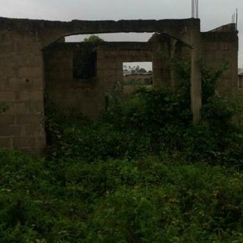 3 Bedroom Flat on a Half Plot, Agbado, Ifo, Ogun, Terraced Bungalow for Sale