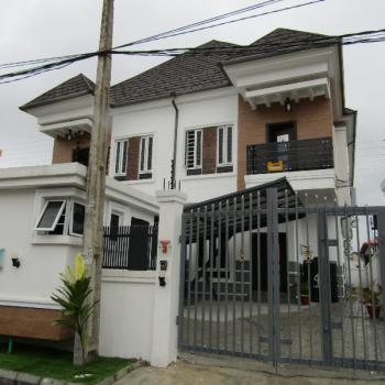 Newly Built and Well Located Luxury 4 Bedroom Semi-detached House with Boys Quarter, Ologolo, Lekki, Lagos, Semi-detached Duplex for Sale