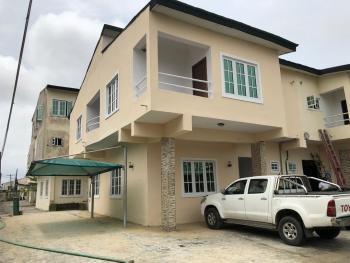 Fully Serviced 4 Bedroom Terrace Duplex, Lekki Garden Estate Phase 1,by Blenco Supermarket, Sangotedo, Ajah, Lagos, Terraced Duplex for Rent