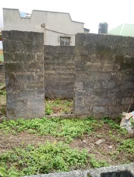 a Full Standard Plot with Uncompleted Structures in a Serene Neighborhood, Biyi Adeyemo Near Peculiar Int Church Araromi Bstp Akesan Lasu Iba Rd Lagos, Akesan, Alimosho, Lagos, Residential Land for Sale