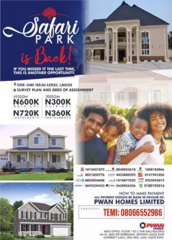 Safari Park Phase 2 Estate, Ode-omi Road, Folu Ise, Ibeju Lekki, Lagos, Mixed-use Land for Sale