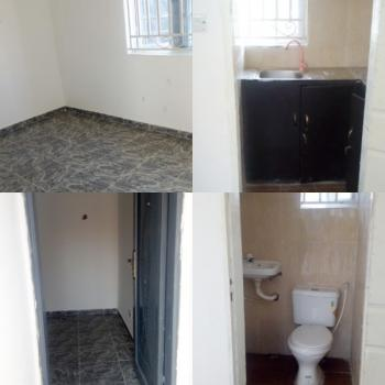 2 Unit of 1 Bedroom Self Contained, Behind Oando Filling Station, Opposite Shoprite, Sangotedo, Ajah, Lagos, Self Contained (single Rooms) for Rent