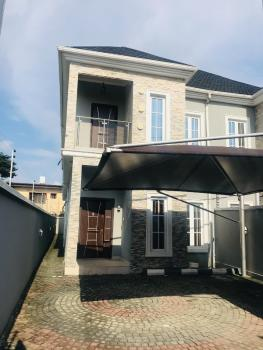 Spacious 4 Bedroom Luxury Semi Detached Duplex with a Domestic Room, Osapa, Lekki, Lagos, Semi-detached Duplex for Sale