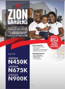 Zion Garden Estate Land, Ilogbo Road, Eleranigbe, Ibeju Lekki, Lagos, Mixed-use Land for Sale