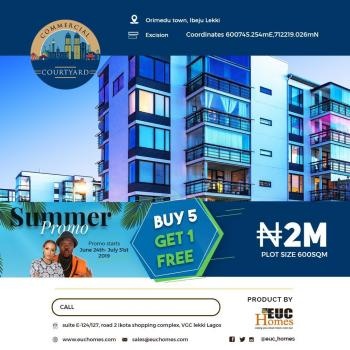 Estate Land Excision, Facing The Road Dangote Refinery Road, Eleko, Ibeju Lekki, Lagos, Mixed-use Land for Sale
