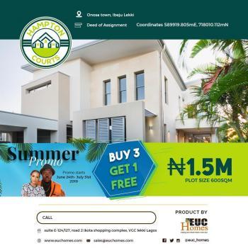 Estate Land, Dangote Refinery, Onosa, Ibeju Lekki, Lagos, Residential Land for Sale