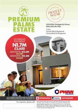 Estate Land Premium Palms Phase 1, Dangote Refinery, Eleko, Ibeju Lekki, Lagos, Residential Land for Sale
