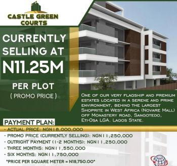 Estate Land, Back of Novare Mall (shop Rite) and Off Monastery Road, Sangotedo, Ajah, Lagos, Residential Land for Sale