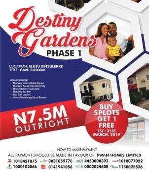 Estate Land. Buy and Build, Along Lekki Epe Express Way, Eluju, Ibeju Lekki, Lagos, Residential Land for Sale