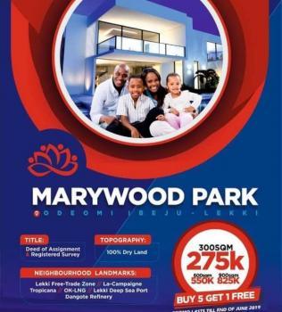 Affordable Estate Land, Near Lekki Free Trade Zone and Several Beach Resorts, Ibeju Lekki, Lagos, Residential Land for Sale