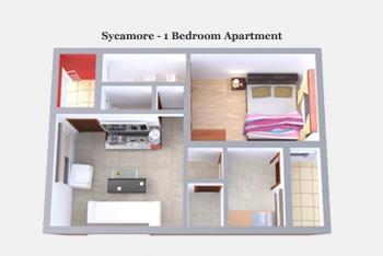 1 Bedroom Apartment (off Plan), Ogombo, Ajah, Lagos, Flat for Sale