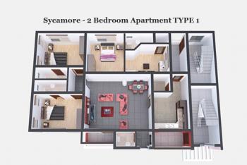 2 Bedroom Apartment (off Plan), Ogombo, Ajah, Lagos, Flat for Sale
